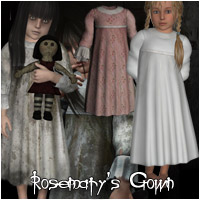 Rosemary's Gown by Rhiannon