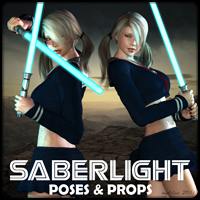 Saberlight Themed Poses/Expressions mytilus