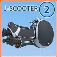 J-scooter2 3D Models 1971s