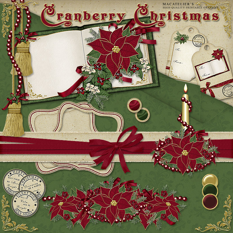 Macatelier's Cranberry Christmas