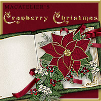 Macatelier's Cranberry Christmas 2D And/Or Merchant Resources Themed macatelier