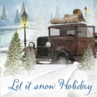 Let it Snow Holiday  Themed 2D And/Or Merchant Resources Makena
