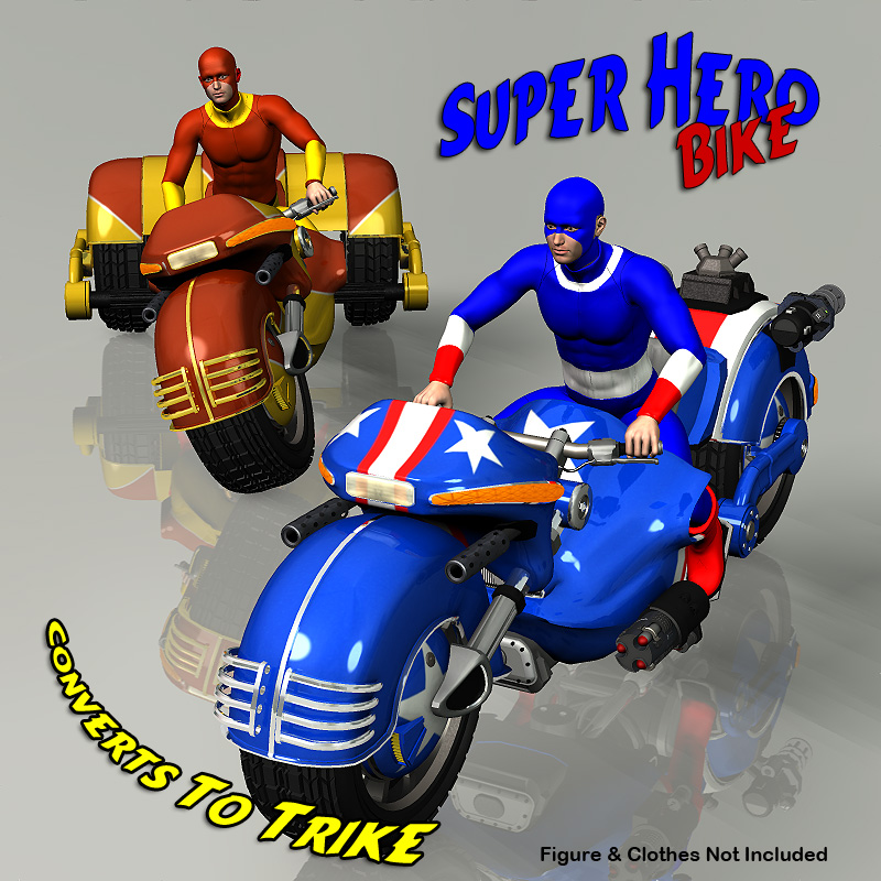 Super Hero Bike