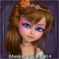 Sasha Hair Themed Hair Software -Wolfie-