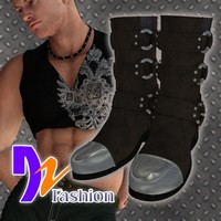 DZ Harness Boots for M4H4Guy4 Clothing dzheng