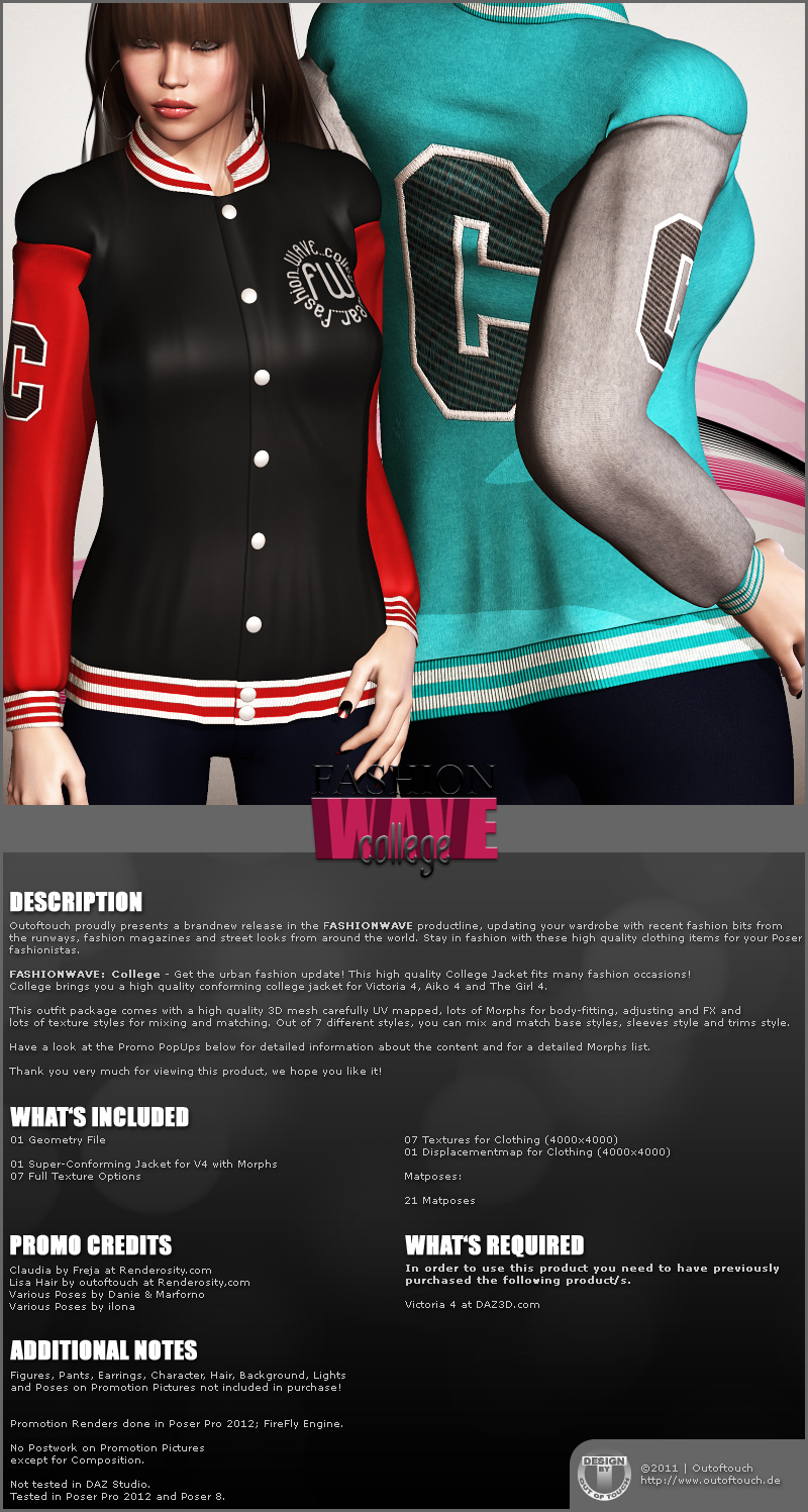 FASHIONWAVE College for V4 A4 G4