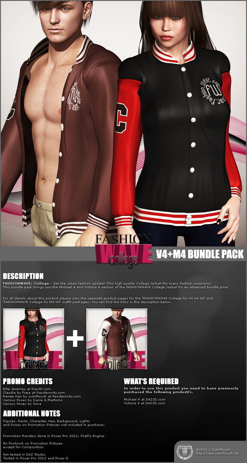 FASHIONWAVE College Bundle