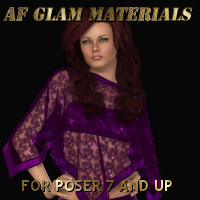 AF Glam Materials 3D Figure Essentials Angelsfury2004
