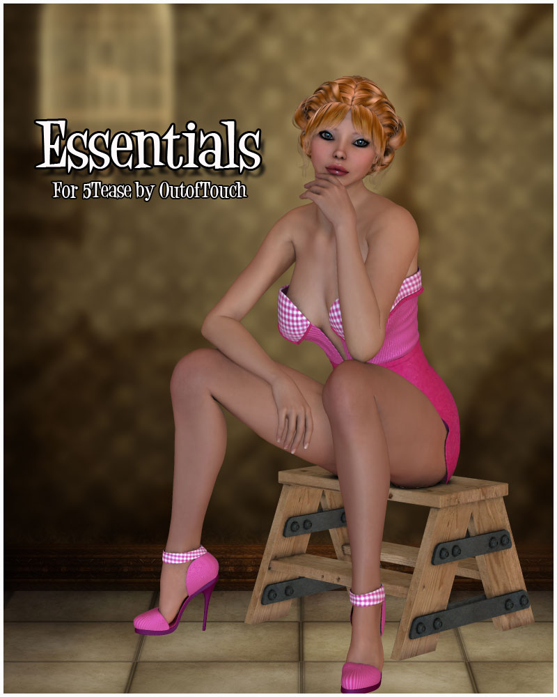 Essentials for 5TEASE PinUp Outfit by Outoftouch