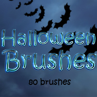 FS Halloween Brushes 2D And/Or Merchant Resources Themed FrozenStar