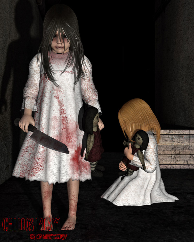 Childs Play for Rosemary's Gown