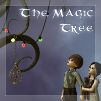 The Magic Tree Props/Scenes/Architecture Themed EyesblueDesign