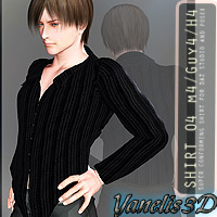 Shirt 04 M4/H4/G4 3D Figure Essentials Yanelis3D
