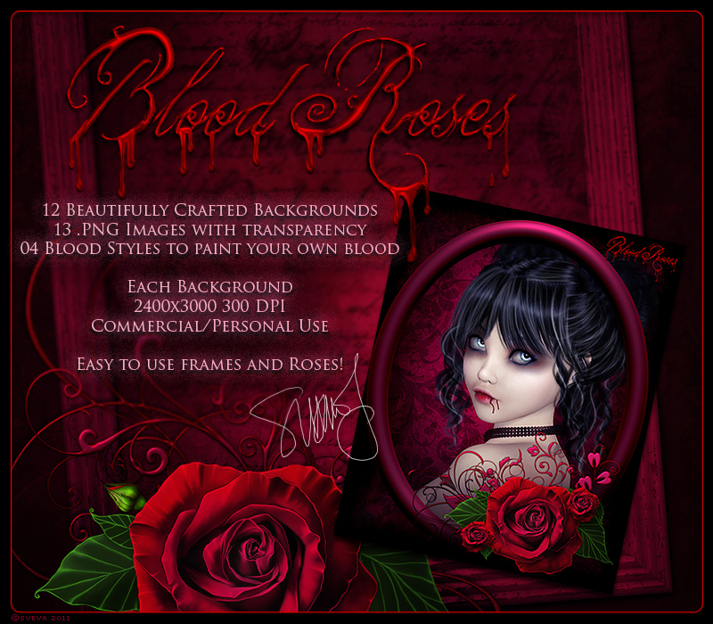 Blood Roses by Sveva