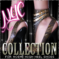 NYC for Noemi Heels 3D Figure Essentials 3DSublimeProductions