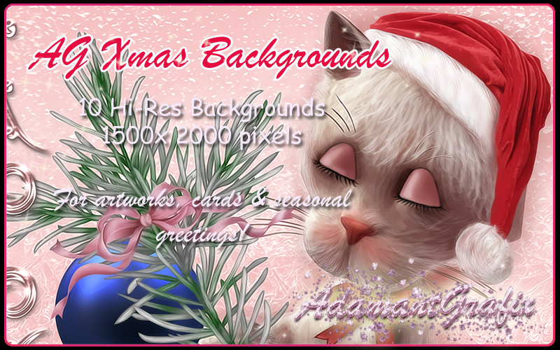 AG Xmas Backgrounds