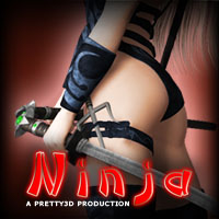Ninja 3D Models 3D Figure Essentials Pretty3D