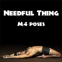 Needful Thing M4 Poses 3D Figure Assets Killebrew