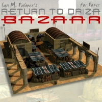 Return To Driza: Bazaar 3D Models 3D Figure Assets IanMPalmer