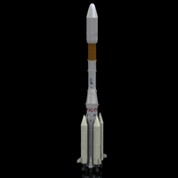 Ariane 4 (for Poser) Transportation Themed Digimation_ModelBank
