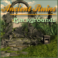 Ancient Ruins 2D And/Or Merchant Resources Themed -Melkor-