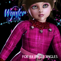 Wynter for JingleJingles 3D Figure Essentials 3DSublimeProductions