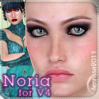 Noria for V4 Characters Clothing _Fenrissa_