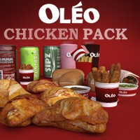 OLEO Chicken Pack 3D Models TruForm