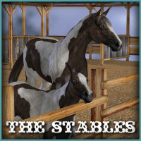The Stables 3D Models -Wolfie-