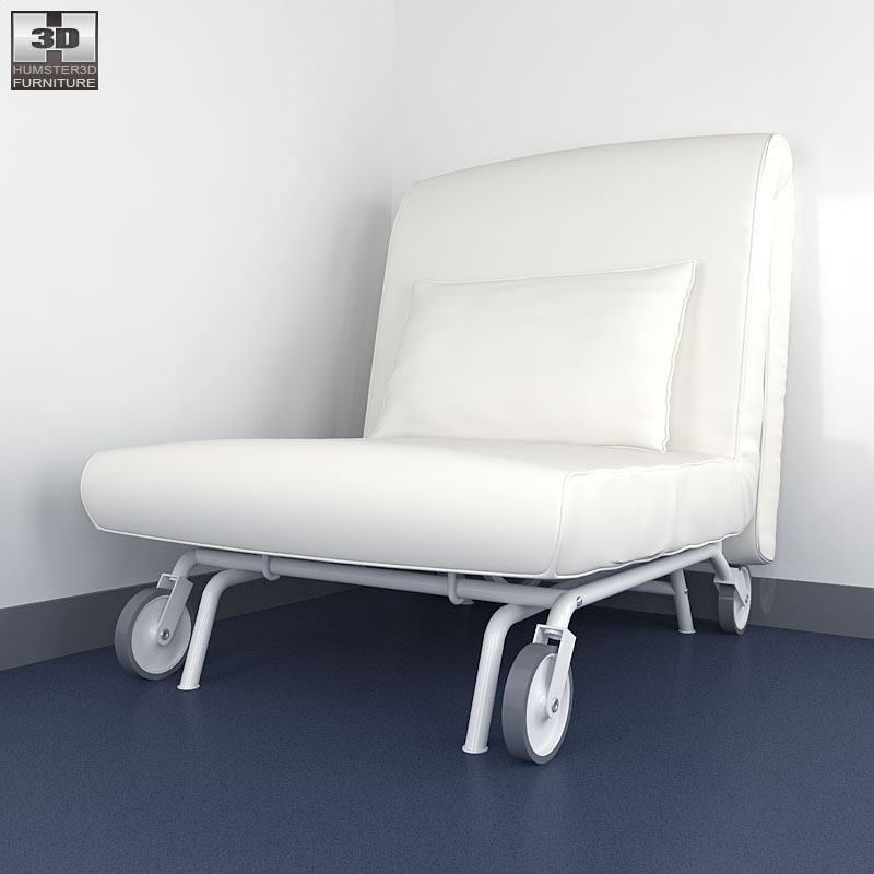 Chair-bed LOVAS - 3D Model.