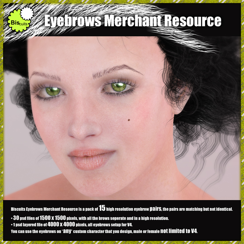 Biscuits Eyebrows Merchant Resource