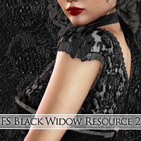 FS Black Widow Resource II Themed 2D And/Or Merchant Resources FrozenStar