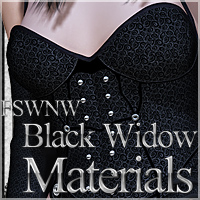 FSWNW Black Widow Materials 3D Models 2D Graphics 3D Figure Assets FrozenStar
