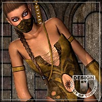 SKILL for Ninja by Pretty3D Themed Clothing outoftouch