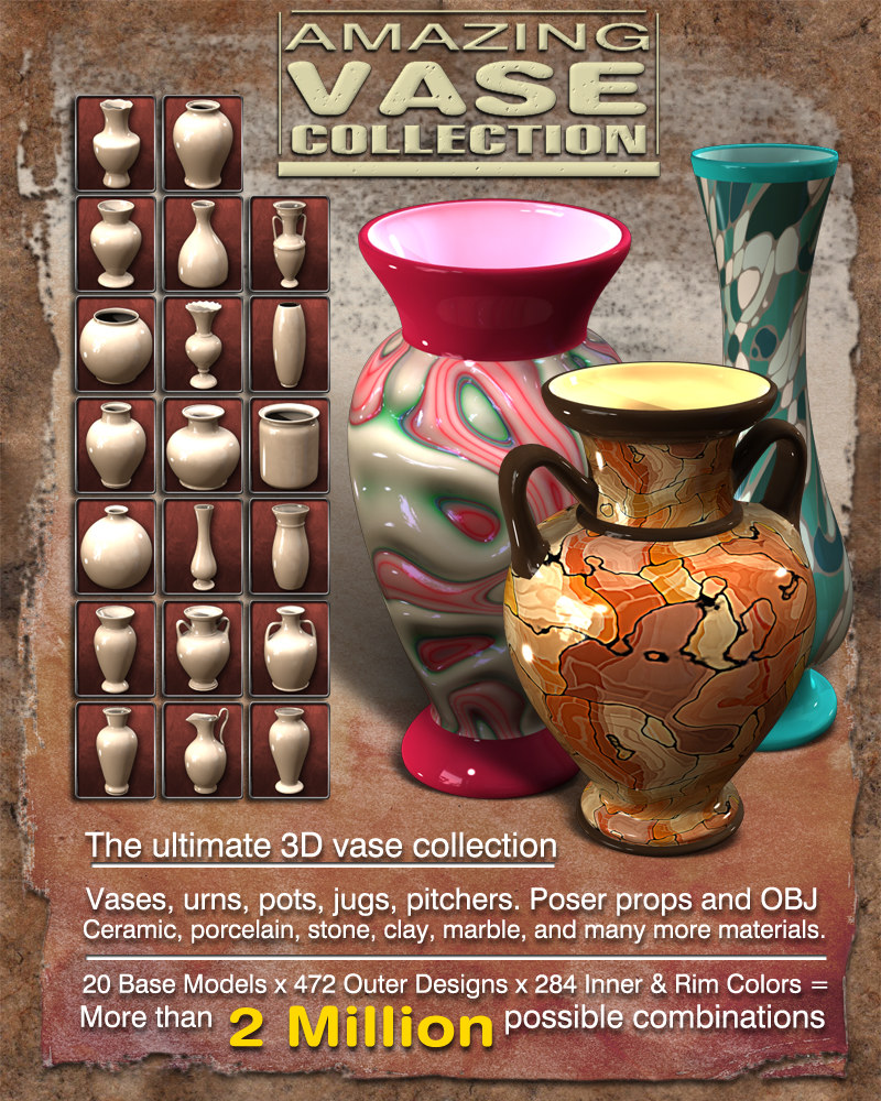 Exnem Amazing Vase Collection