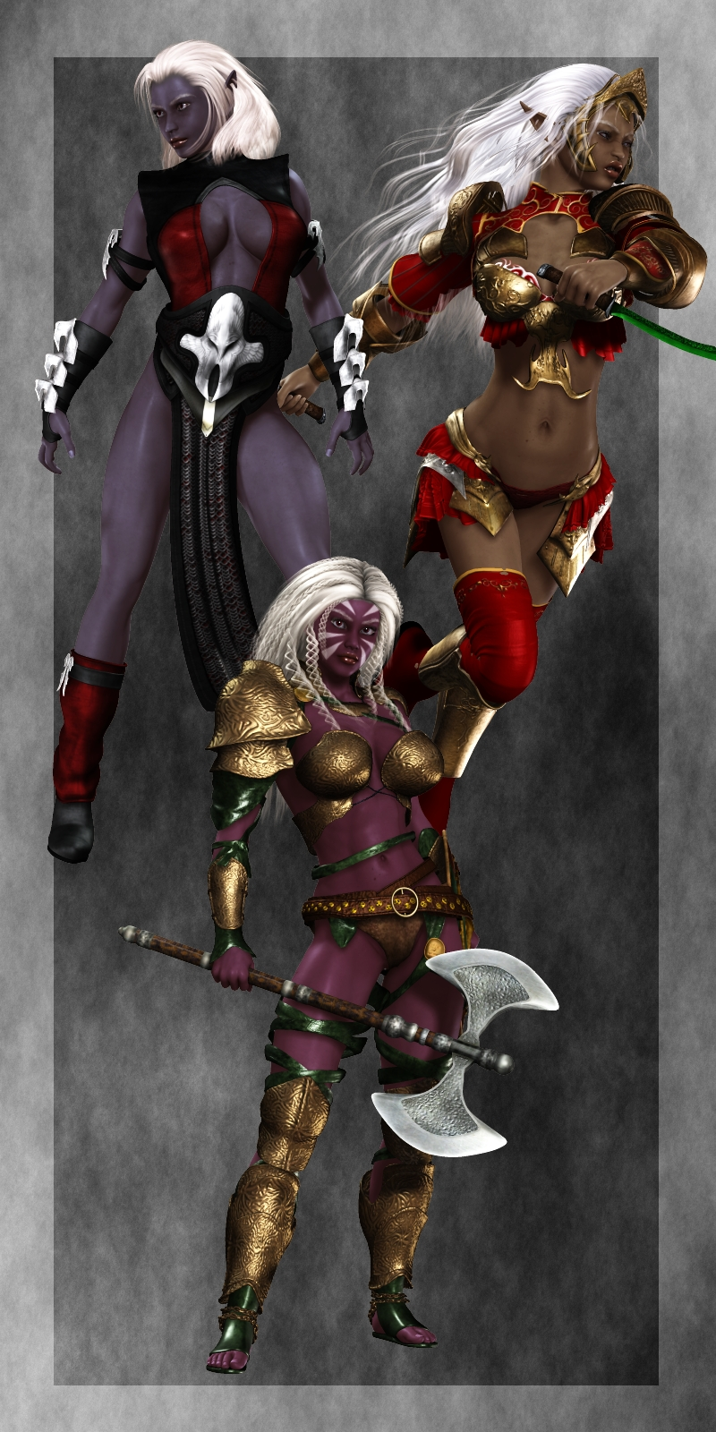 Drow - Dark & Deadly