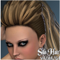 Silo Hair V4-A4-G4 3D Figure Essentials nikisatez
