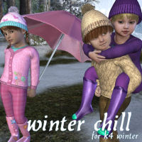 Winter Chill Clothing Themed JudibugDesigns