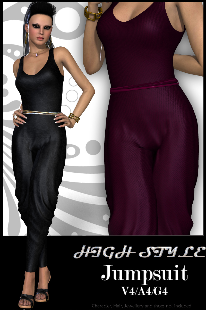 HIGH STYLE Jumpsuit V4-A4-G4