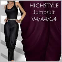 HIGH STYLE Jumpsuit V4-A4-G4 by nikisatez