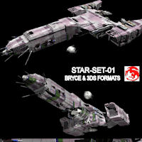 STAR-SET-01 3D Models rj001