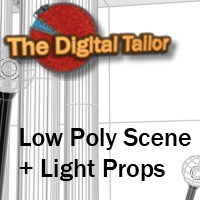 The Hall and Light Props Tutorials : Learn 3D Fugazi1968