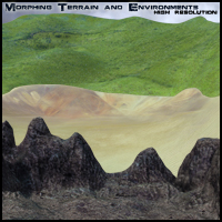 Morphing Terrain and Environments 3D Models ironman13