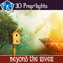 Beyond The River 2D Graphics 3D Software : Poser : Daz Studio : iClone EmmaAndJordi