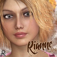 PS-Rianne for V4 3D Figure Assets pixeluna