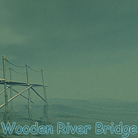 Wooden River Bridge 3D Models 1971s