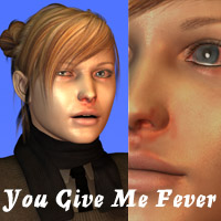 You Give Me Fever 3D Figure Assets 2D Graphics Oskarsson