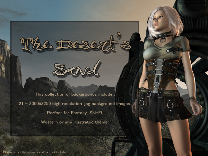 The Deserts Sand