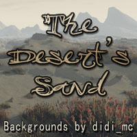 The Deserts Sand 2D 3D Models didi_mc