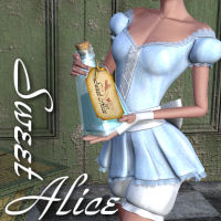 Sweet Alice 3D Figure Essentials 3D Models JudibugDesigns